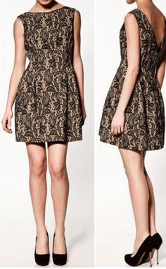 Tulip dress Zara