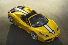 #Ferrari 458 #Speciale Aperta Edicion limitada confirmada para Paris #deportivos #Ferrari458 #autos #coches