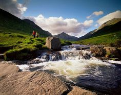 Glenrosa Water, Isle of Arran, Scotland