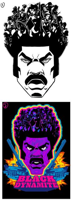 BlacK Dynamite- Hoe Fro by ChaseConley on DeviantArt