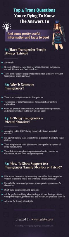 Top 4 Trans Questions You're Dying To Know The Answers To