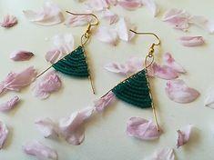 Veronahandmade / Lastovičky Afro, Drop Earrings, Jewelry, Jewlery, Jewerly, Schmuck, Drop Earring, Jewels, Jewelery