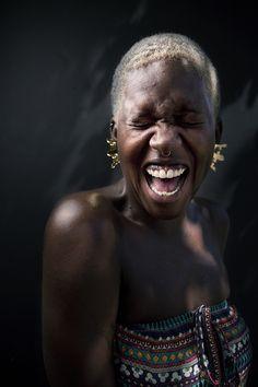 African Tribes Kenya Samburu Girl Photo by Antonio Nunes. Beautiful Smile, Black Is Beautiful, Beautiful People, Afro Punk, Dark Complexion, Dark Skin, Black Girl Magic, Black Girls, African Tribes