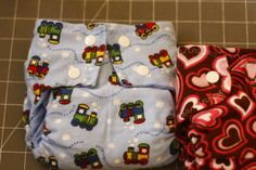 How to sew a cloth diaper-with snaps! these are sized diapers, and she gives dimensions for newborn-large sizes