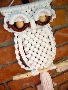 macrame owl @Natasha S S S C Cooper
