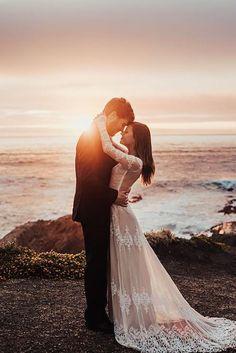 30 Photo Ideas From World's Top Wedding Photographers ❤️ wedding photographerssunset on the beach tessatadlock ❤️ See more: http://www.weddingforward.com/wedding-photographers/ #weddingforward #wedding #bride