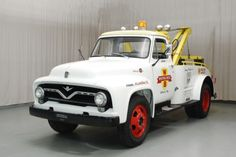 Restored Ford Tow Truck