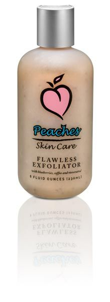 Peaches Skin Care Blueberry & Coffee Bean Exfoliating Cleanser
