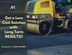 Looking for Commercial Asphalt Paving Toronto services? We at main infrastructure provide you all your commercial asphalt paving needs both large & small. Asphalt Repair, Asphalt Pavement, Driveway Pavers, Schedule, Toronto, Commercial, Construction, Touch, Free