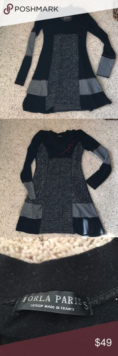 Forla Paris custo sweater dress Excellent Condition. No offline transactions or trades. Reasonable offers via offer option only. Location: NJ. forla paris Dresses