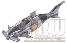 'Sleek' Vehicle Design by bytesizetreasure on DeviantArt