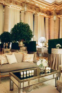 Stylish Seating | wedding lounge