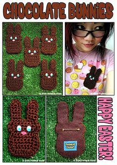 ChocolateBunnyPins   por TWiNKiE CHAN