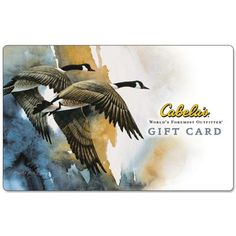 $50 Cabela's Gift Card : $40 + Free S/H  http://www.mybargainbuddy.com/50-cabelas-gift-card-40-free-sh