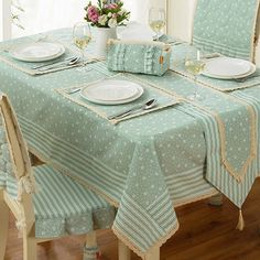 What a Love from Home: Tablecloth or Placemats- Que Amor de Casa : Toalha de Mesa ou Jogo Americano What a Love from Home: Tablecloth or Placemats - Table Manners, Kitchen Hand Towels, Dinning Table, Deco Table, Modern Table, Table Toppers, Decoration Table, Chair Covers, Table Linens