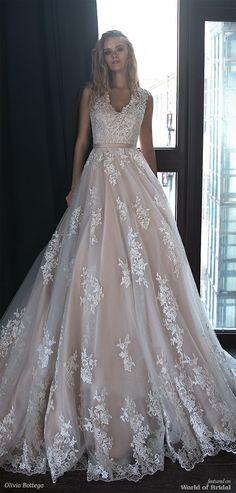 Olivia Bottega 2018 Wedding Dress #weddingdress