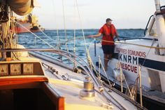 WORLD TOUR STORIES - Alex and Taru sailing around the world. Sailing blog.: Emergencies at sea