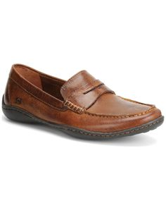Born Simon Moc Toe Loafers