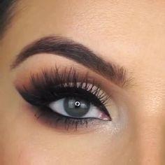 Makeup Eye Looks, Simple Eye Makeup, Makeup For Brown Eyes, Natural Makeup, Brown Eyes Eyeshadow, Makeup Inspo, Makeup Hacks, Makeup Tips, Beauty Makeup