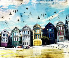 "Painted Ladies  by Tim Jarosz  ART PRINT / MINI (9"" X 8"")"