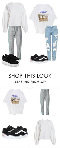 """""""worse""""#2"""" by elzikaa on Polyvore featuring Monse, Vans, NLY Trend and Alexander McQueen"""