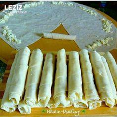 Buzluk Böreği (Banyolu Börek) Bakery, Deserts, Food And Drink, Cheese, Ethnic Recipes, Pastries, Hair, Beauty, Whoville Hair