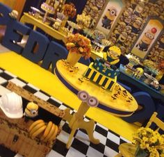 Minions candy party
