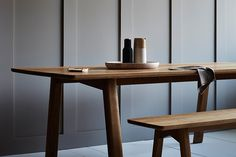 TIDE's new Waka Dining Table is a solid and dependable oak table that has a strong stance matched with elegant, fine details.