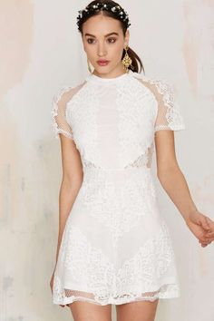 Glamorous New Lace On Life Dress | Shop Clothes at Nasty Gal!