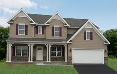 Parker Vintage in Paradise, PA. 4 bedrooms and 2.5 baths at the price of $319,912. #KCH #QuickMoveIns #NewHomes