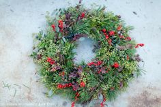 Zita Elze Christmas wreath 2015 photography: Julian Winslow -6374_wm