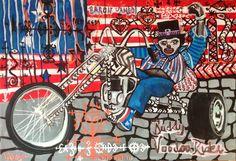 Buddy Miles Voodoo Rider - Acrylique sur toile - 111x76 - 2014