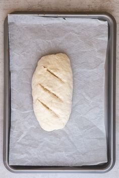 Homemade Rustic No Yeast Bread - An Italian in my Kitchen Bread Without Yeast, No Yeast Bread, Quick Bread Recipes, Easy Baking Recipes, Bannock Bread, No Yeast Pizza Dough, Hazelnut Spread, Soda Bread, Have Time