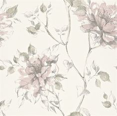 Blomstret tapet - Køb tapeter med blomster online her Beach Wallpaper, Wallpaper Ideas, Tiny Bird, Girl Bedroom Designs, Girls Bedroom, Surface Pattern, Floral Watercolor, Art Floral, Accent Decor