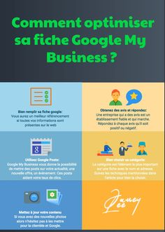 ▷ Comment optimiser sa fiche Google my business en 2021 [ #Infographie ] #GoogleMyBusiness #Google Inbound Marketing, Digital Marketing, Leadership, Seo Optimization, Le Web, Seo Tips, Important, Business, Google