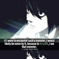 The source of Anime quotes & Manga quotes Manga Quotes, Anime Qoutes, Art Of War Quotes, Me Quotes, Philosophical Quotes About Life, Manhwa, Nate River, L Death Note, L Lawliet