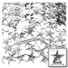 Amazon.com: 144pc Loose flatback Acrylic Rhinestones Star 6mm - 30ss flatback Crystal Clear