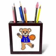 Janna Salak Designs Teddy Bears - Cute Basketball Player…