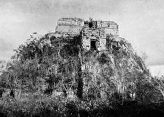 Pyramid of the Magician, as it appeared in 1913. The Pyramid of the Magician (El Adivino) is the central structure in the Maya ruin complex of Uxmal. The Pyramid of the Magician is also referred to as the Pyramid of the Soothsayer. Uxmal is located in the Puuc region of Mexico and was one of the largest cities on the Yucatán Peninsula. At its height, Uxmal was home to about 25,000 Maya.