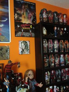 Living Dead Dolls this is the biggest collection I've seen of them