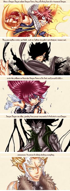 Fairy Tail Dragon Slayers