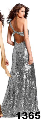 One Shoulder Sequin Prom Dress « Dress Adds Everyday