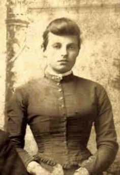 Evelyn Ann Margaret Parker Vane (1872-1955) Daughter of Bushranger, John Vane