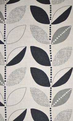 Wilson Fabrics, Evoke, Drapery, Uncoated, Prints - Vine black