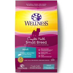 Wellness Complete Health Natural Dry Small Breed Dog Food >>> Learn more by visiting the image link. (This is an affiliate link) #PetDogs