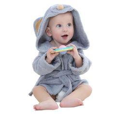 Fashion Designs Hooded Animal Modeling Baby Bathrobe Cartoon Baby Towel Character Kids Bath Robe Infant Beach Towels YE0001