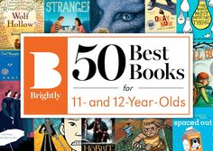 The 50 Best Books for 11- and 12-Year-Olds