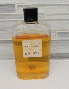 1950s Chanel No. 5 3.2 oz Cologne Oval Bottle Like In Marilyn Monroe Ad by gypsytejas on Etsy