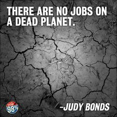 Strip-mining and mountain-blasting the planet to enrich enormous corporations, instead of building a green economy that enriches everyone?  Frack that.