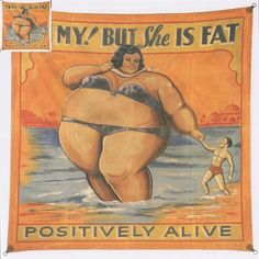 Fat Lady sideshow banner